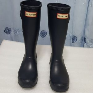 HUNTER🎀 GIRLS  Tall boots size 2B